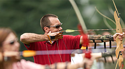 ARCHERY. A customer favorite, archery is fun and easy to learn from our expert instructors.