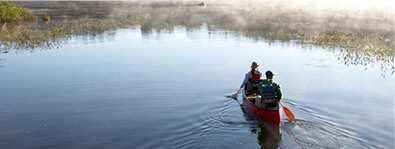 CANOE TOURS. Enjoy beautiful scenery, fascinating wildlife and a leisurely pace on this expert-guided paddle.
