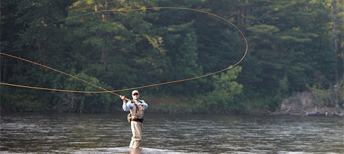 Fly fishing courses tours and trips for Fly fishing casting