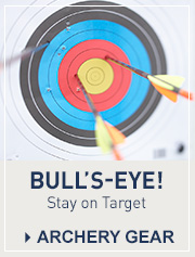 Archery Courses and Private Lessons. Archery Gear. Bull's-Eye! Stay on Target.