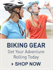 L.L.Bean Outdoor Discovery Schools. Biking Gear. Take a trip on two wheels.