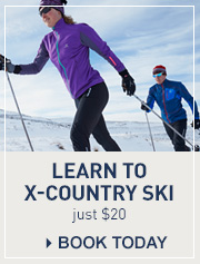 Learn to cross-country ski for just $20.