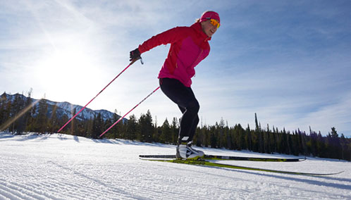 Discover Your Inner Arctic Explorer. Kick-start winter fun by learning how to cross-country ski or skate ski. Beginner and private lessons available.