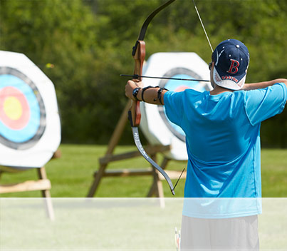 ARCHERY DISCOVERY COURSE. A customer favorite. Learn the basic skills and techniques needed to accurately shoot a bow.