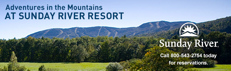 Adventures in the Mountains AT SUNDAY RIVER RESORT. Call 800-543-2754 today for reservations.
