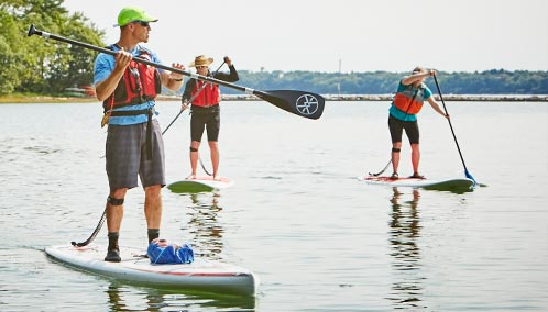 Discover Your Inner Paddle Boarder. Learn stand up paddle boarding or master more challenging skills with our fun and easy-to-learn SUP classes.