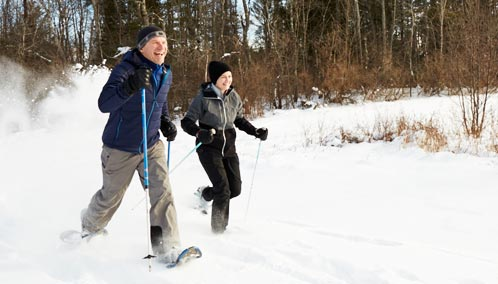 Strap on Snowshoes for an Amazing Adventure. There's nothing more memorable than snowshoeing through a wintry landscape. Lessons start at just $25. Sign up today.