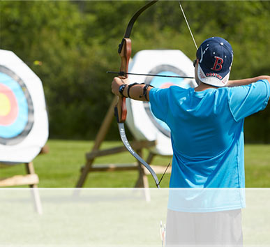 ARCHERY. Learn the tips and techniques to accurately shoot a bow. One of our most popular courses for adults and children. Daily, May to October.