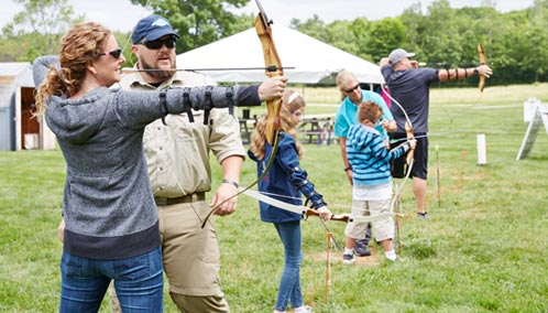 Hit the Bull's-Eye. Whether you're a first-time archer or a seasoned pro, you'll learn helpful tips and techniques in our fun archery classes. Sign up today.