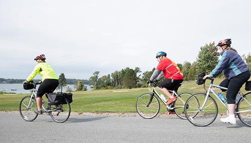 Discover Maine on two wheels. Ride past lighthouses, rugged shorelines and seaside villages on our fully supported cycling trips – or brush up on rules of the road. Book today.