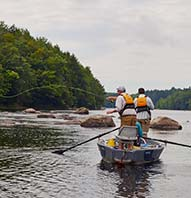 ANDROSCOGGIN RIVER FISHING TRIP