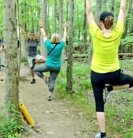 GUIDED YOGA HIKE