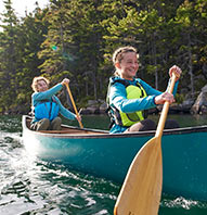 TEEN ADVENTURES PENOBSCOT RIVER CANOE TRIP