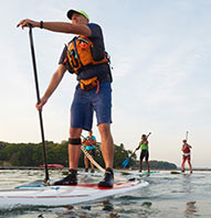 $25 STAND-UP PADDLEBOARDING COURSE
