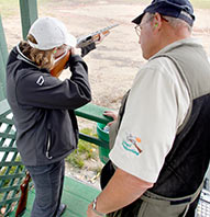 $25 SPORTING CLAYS COURSE