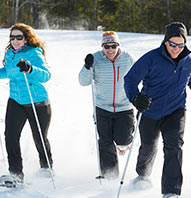 $25 SNOWSHOEING COURSE