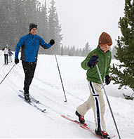 $25 CROSS-COUNTRY SKI COURSE