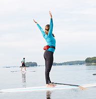 STAND-UP PADDLEBOARDING YOGA
