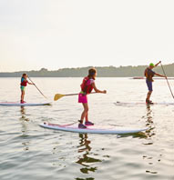 STAND-UP PADDLEBOARDING FITNESS DISCOVERY COURSE