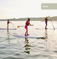 $25 FAMILY STAND-UP PADDLEBOARDING DISCOVERY COURSE