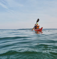 MAINE GUIDED KAYAK TOUR – SOLO KAYAK