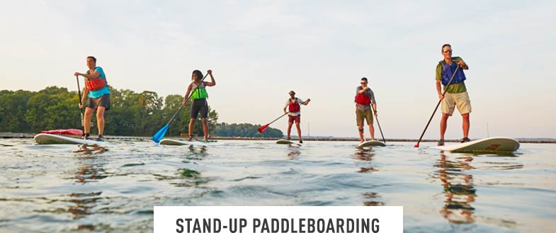 STAND UP PADDLE BOARDING. Learn the exciting sport of stand-up paddleboarding. The perfect balance of fitness and fun. Daily. June to October.