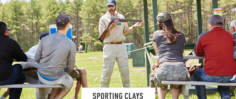 SPORTING CLAYS. Discover the exhilaration and fun of sporting clays. Ideal for beginners and experienced shooters alike. Select afternoons. May to October.