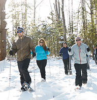 PLEASANT MOUNTAIN GUIDED SNOWSHOE HIKE