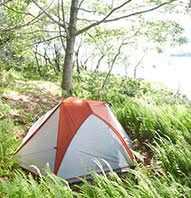 ISLAND CAMPING TRIPS