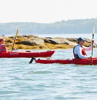 ONE-NIGHT MAINE BIKE AND KAYAK TRIP
