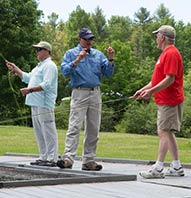 INTRO TO FLY-CASTING COURSE AT PINELAND FARMS