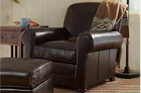 NEW Leather Lodge Furniture Collection