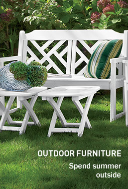 Outdoor Furniture. Spend summer outside
