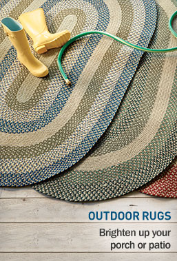 Outdoor Rugs. Perfect for your porch or patio