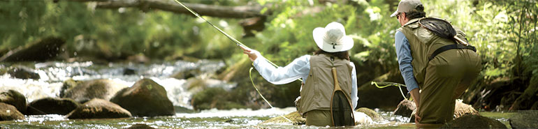 Men's and Women's Fishing Apparel from L.L.Bean
