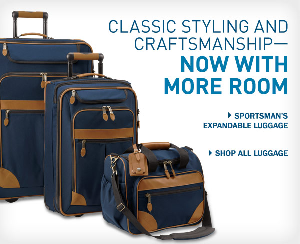 Classic Styling and Craftsmanship, Now with More Room.