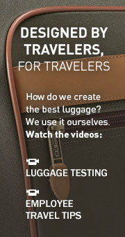Designed by travelers, for travelers How do we create the best luggage? We use it ourselves.