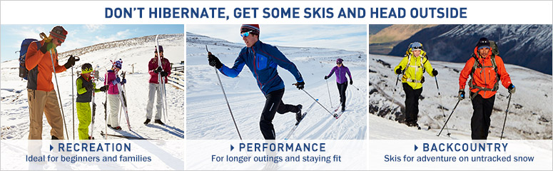 Cross-Country Skiing Gear, Equipment & Clothing | Skis, Boots ...
