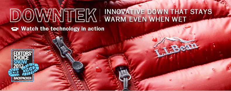 DownTek. Innovative Down That Stays Warm Even When Wet. Ultralight 850 Down Outerwear. Game-changing water-repelling technology and a great price make it the best value in its class.