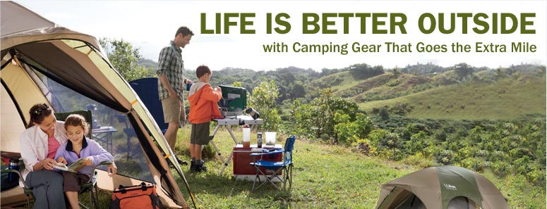 Life Is Better Outside with Camping Gear That Goes the Extra Mile. King Pine Dome Tents from L.L.Bean