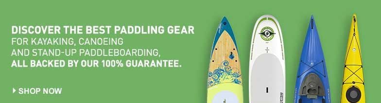 Discover the best paddling gear for kayaking, canoeing and stand-up paddleboarding, all backed by our 100% guarantee.