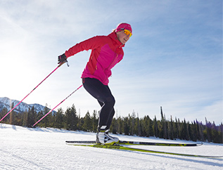 World champion cross-country skier Kikkan Randall knows a thing or two about staying warm in the winter. We've partnered with her to design outerwear that truly enhances your real-world adventures.