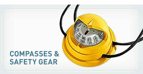 Compasses & Safety Gear