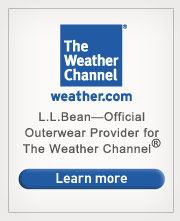 L.L.Bean–Official Outerwear Provider for The Weather Channel®