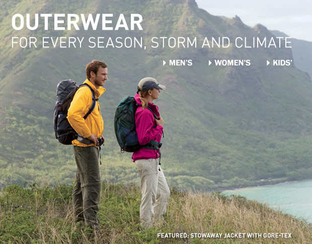 Outerwear for every season, storm and climate.