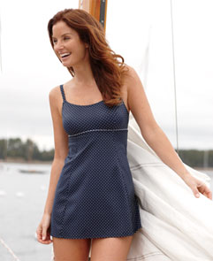 Swim Dress. A flattering suit you can wear with confidence.