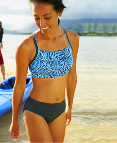 NEW Watersport. Our most active swimwear – worthy of any water sport.