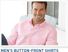 Men's Button-Front Shirts