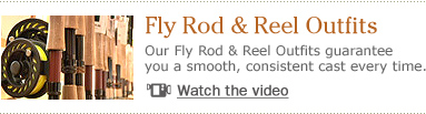 Our Fly Rod & Reel Outfits guarantee you a smooth, consistent cast every time.
