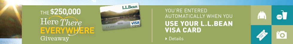 Visa coupons llbean